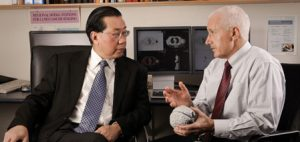 Prof David Dagan Feng and Clinical Prof Michael Fulham